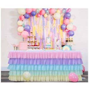 Unicorn horse birthday decorations girl party